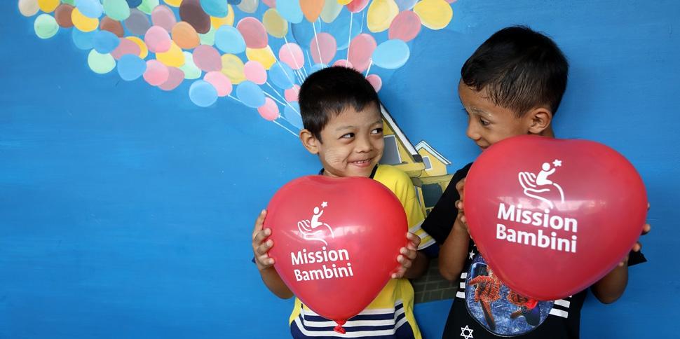 Raccolta fondi per Mission Bambini